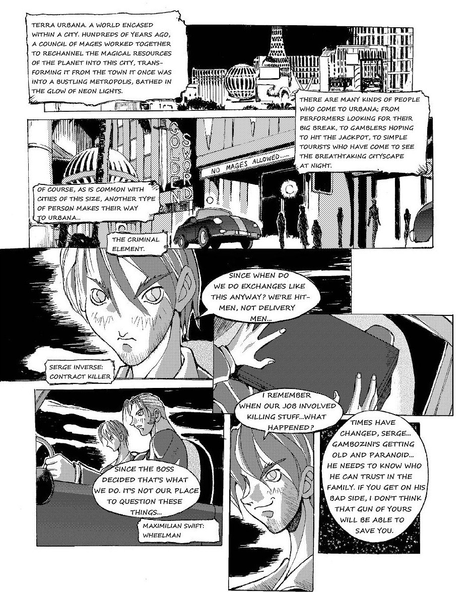 Zokusho: Fracture–page 1