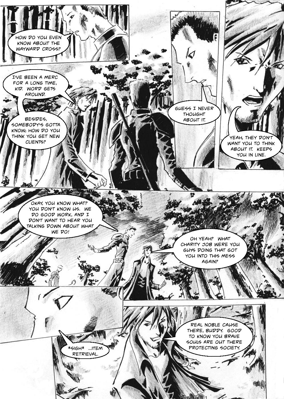Zokusho: Longshot–Page 3