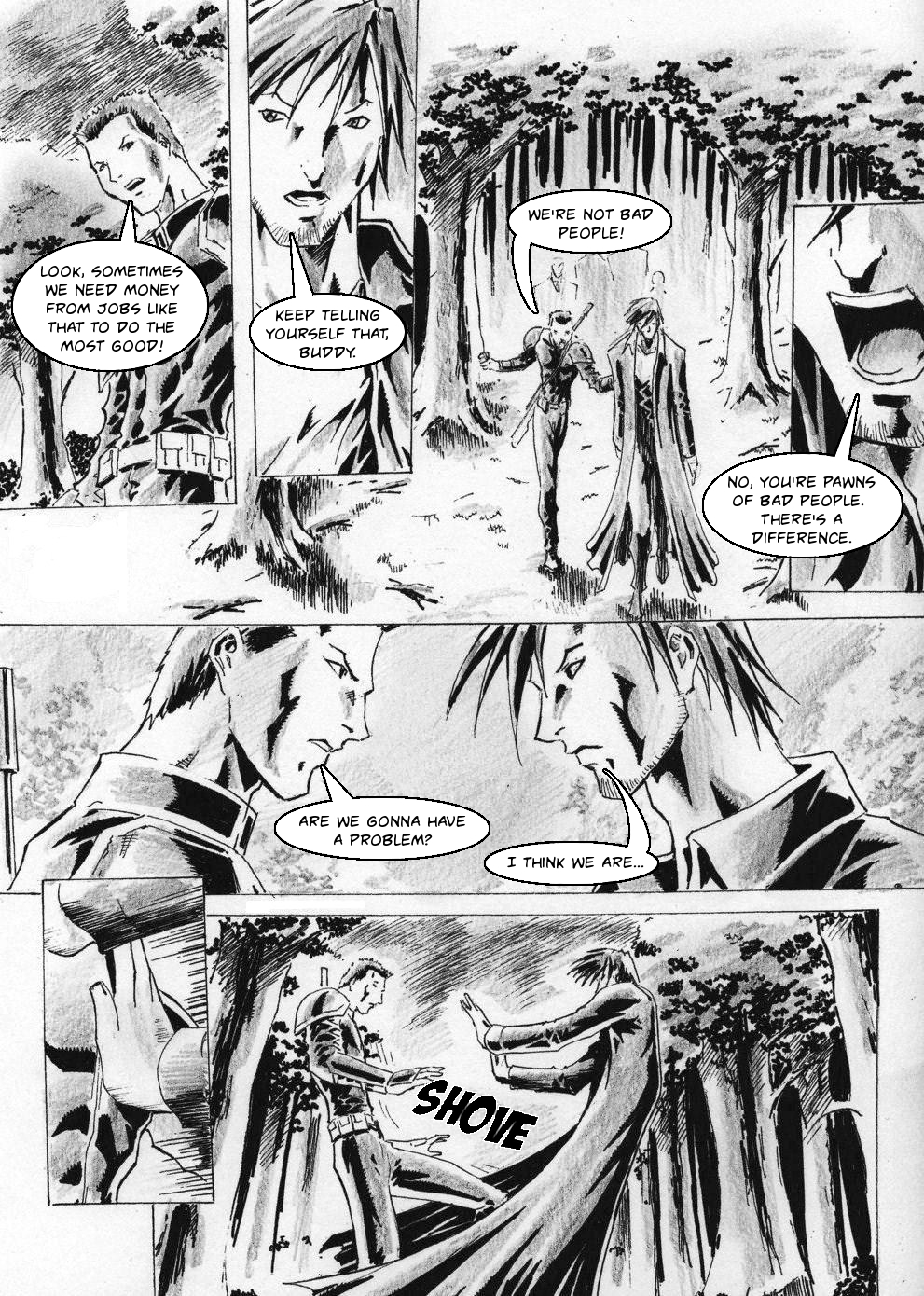 Zokusho: Longshot&#8211;Page 4