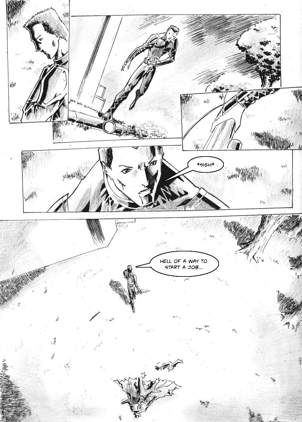 Zokusho: Longshot–Page 22