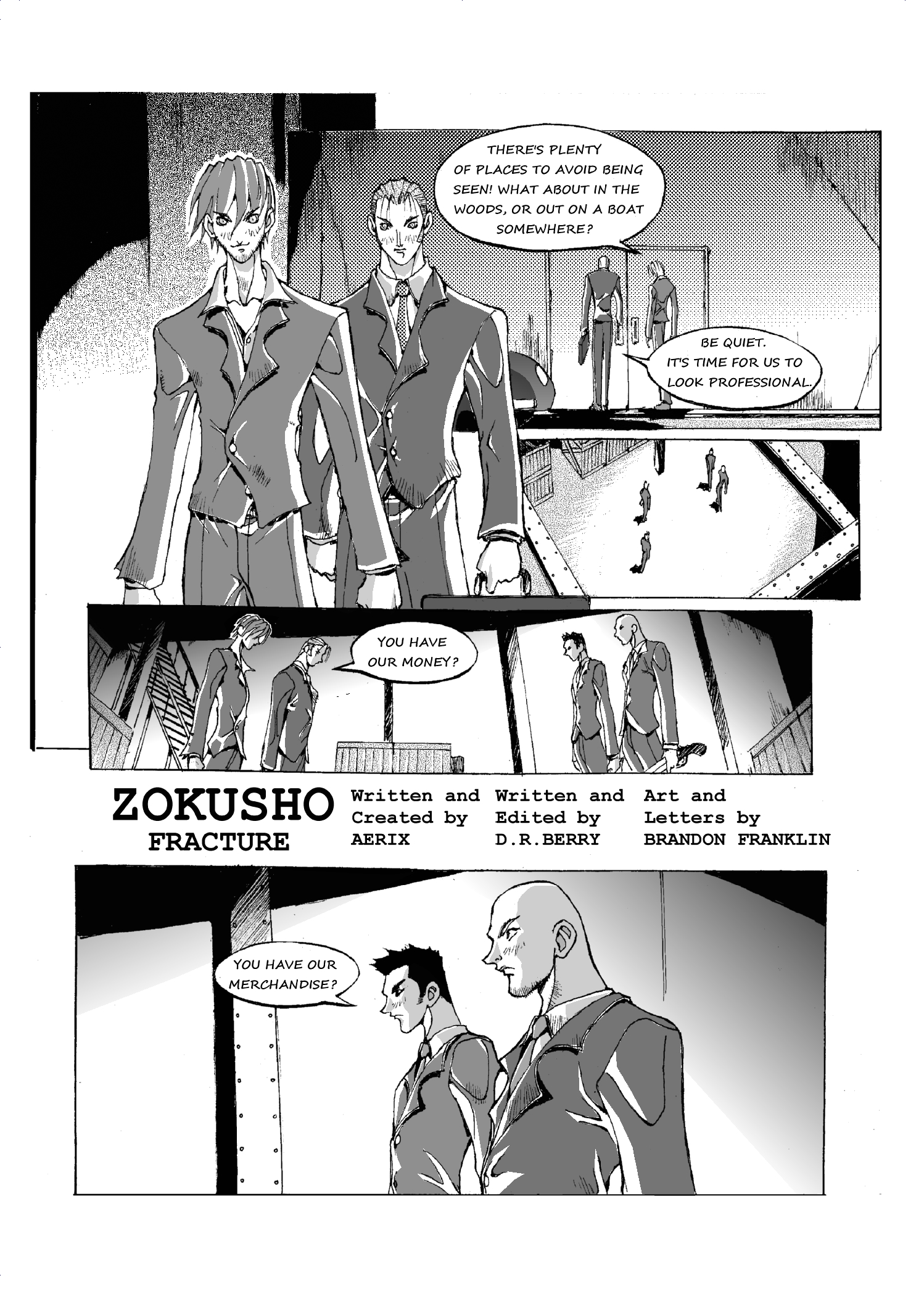 Zokusho: Fracture–page 3
