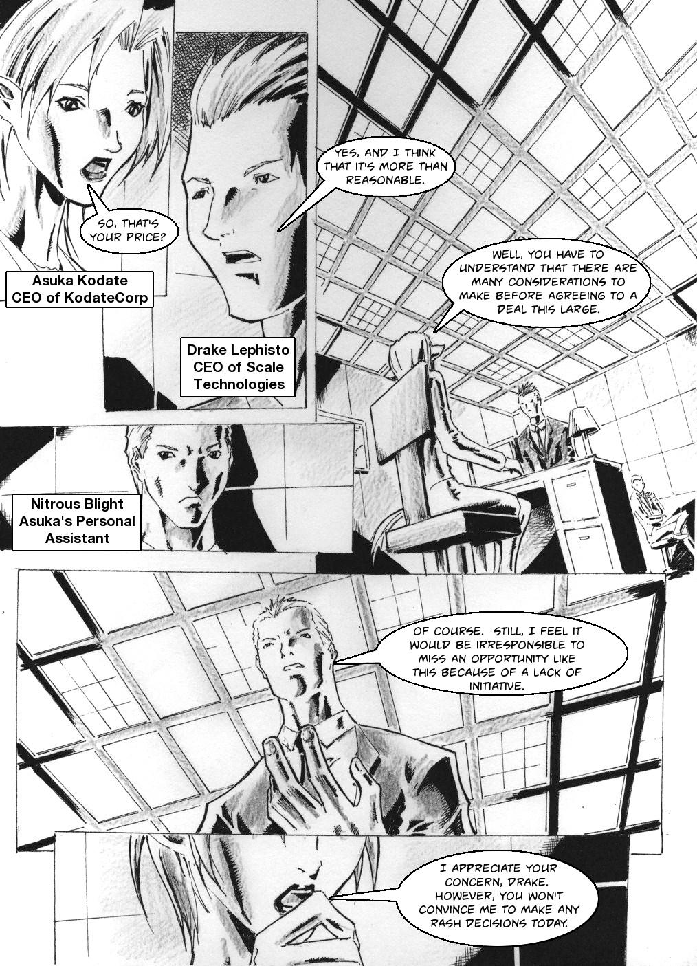 Zokusho: Merger–Page 1