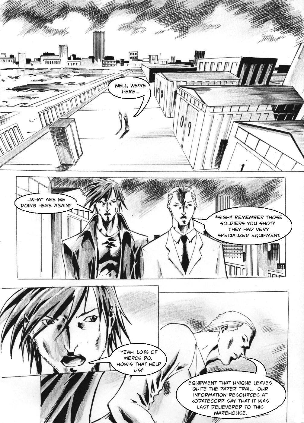 Zokusho: Crossover–Page 1