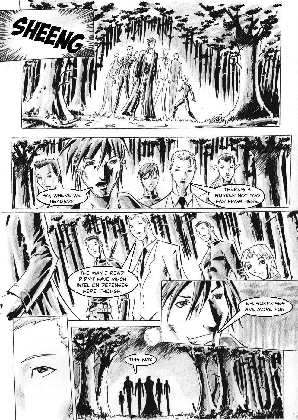 Zokusho: Longshot–Page 1