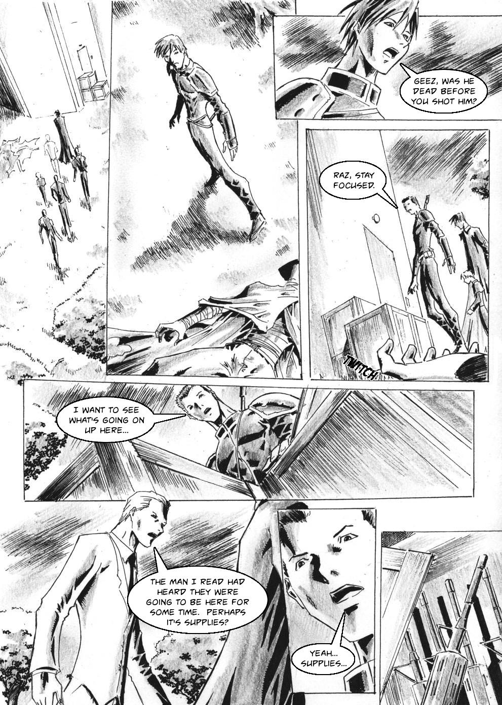Zokusho: Longshot–Page 11