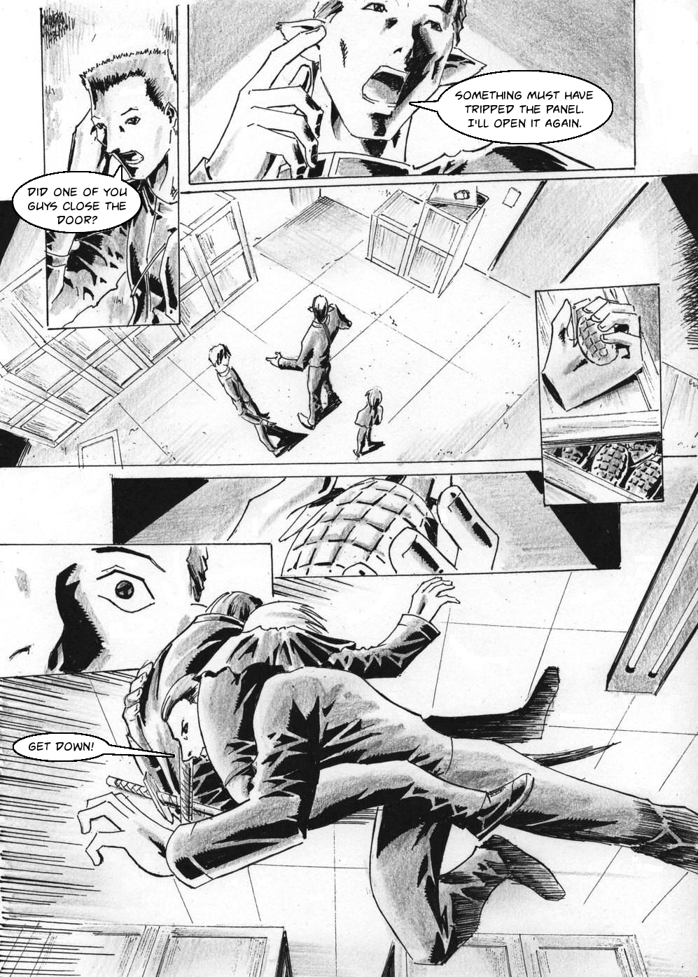 Zokusho: Longshot–Page 13