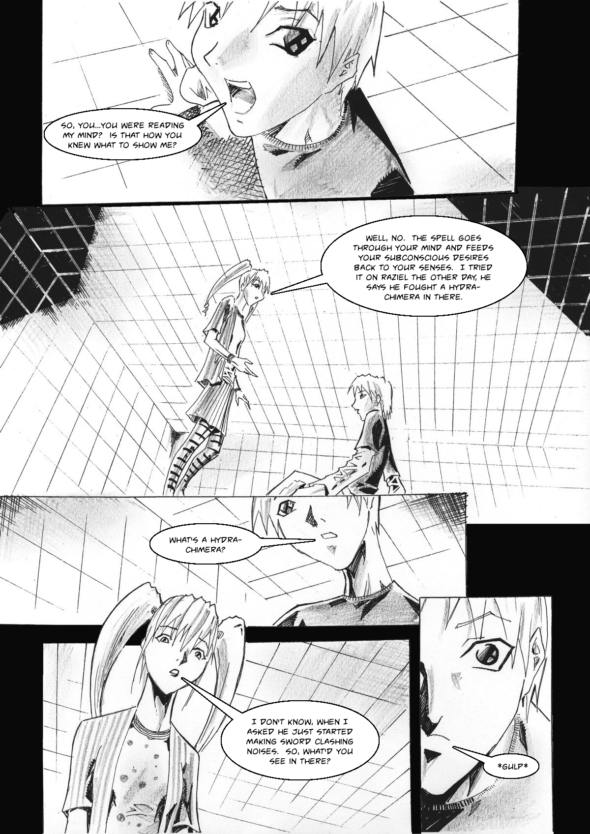 Zokusho: Some Enchanted Evening–Page 21