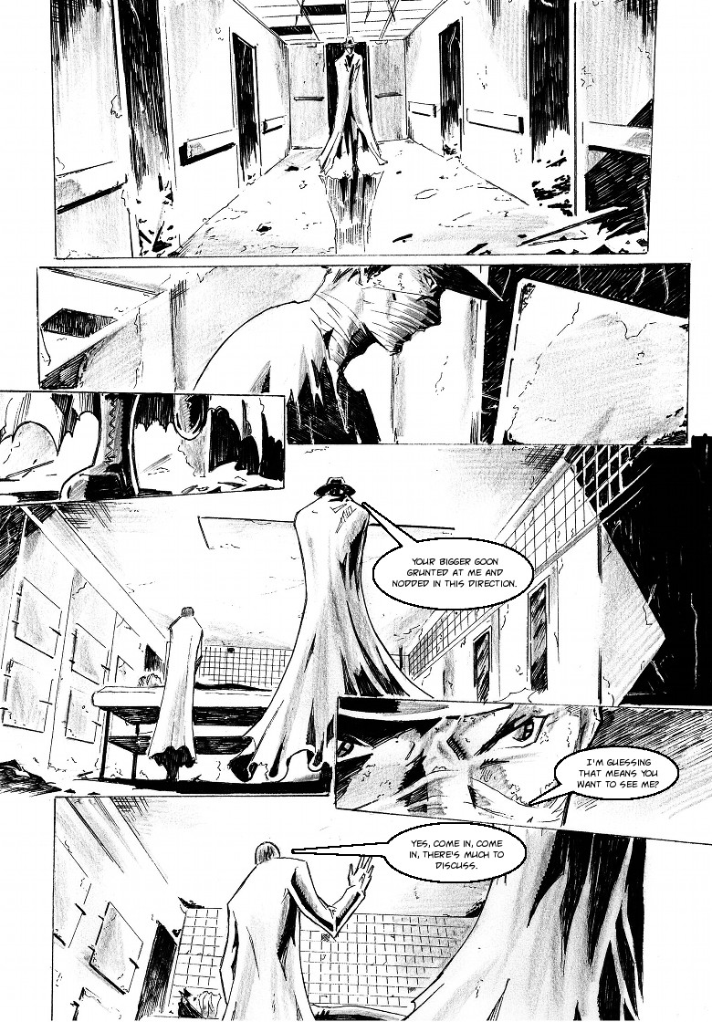 Zokusho: Smash and Grab–Page 1